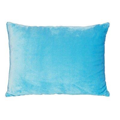 Royal Plush Lumbar Pillow Color: Blue