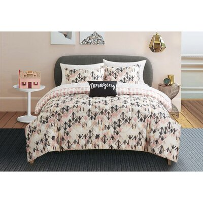 Dowling Reversible Bed-In-a-Bag Set Size: Full