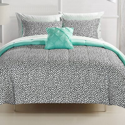 Dov Reversible Bed-In-a-Bag Set Size: Queen