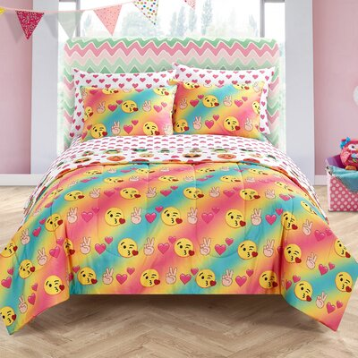 Liya Love Bed in a Bag Bedding Set Size: Full