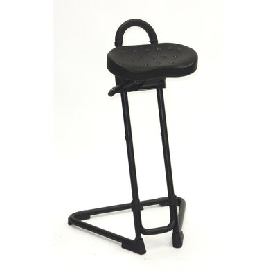 Height Adjustable Sit Stand Swivel Seat Product Image 13500