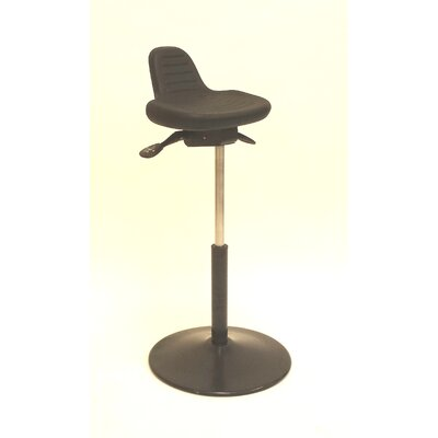 Height Adjustable Sit Stand Round Metal Base Product Image 13500