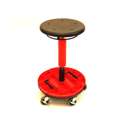 Height Adjustable Tool Trolley Removable Tray Low 2981 Image