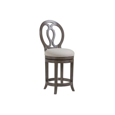 Axiom 24.5 Swivel Bar Stool Color: Grigio