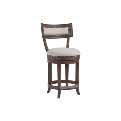 Apertif 24 Swivel Bar Stool Color: Marrone