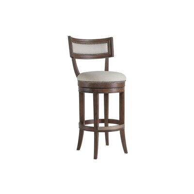 Apertif 30 Swivel Bar Stool Color: Marrone