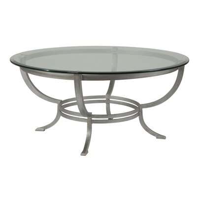Andress Coffee Table Table Base Color: Argento
