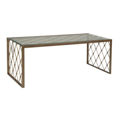 Royere Coffee Table Table Base Color: Renaissance
