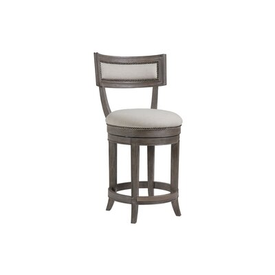 Apertif 24 Swivel Bar Stool Color: Grigio