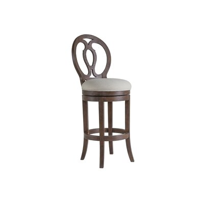 Axiom 30.5 Swivel Bar Stool Color: Marrone