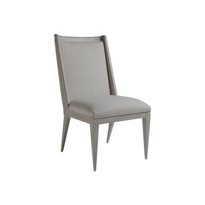 Haiku Upholstered Dining Chair Color: Bianco