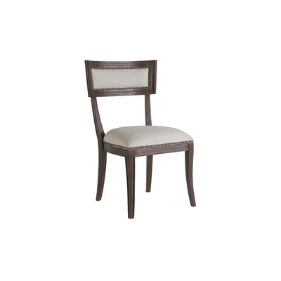 Apertif Upholstered Dining Chair Color: Marrone