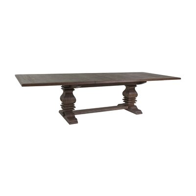 Axiom Extendable Dining Table Color: Marrone