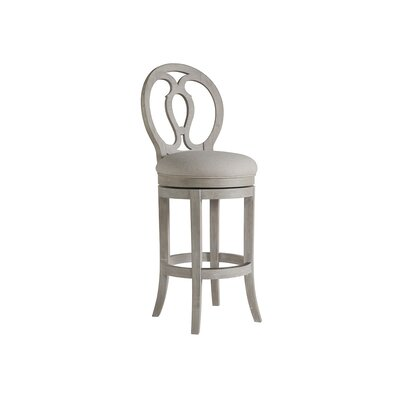 Axiom 30.5 Swivel Bar Stool Color: Bianco