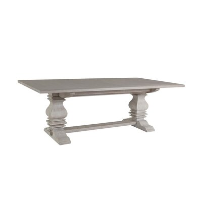 Axiom Extendable Dining Table Color: Bianco