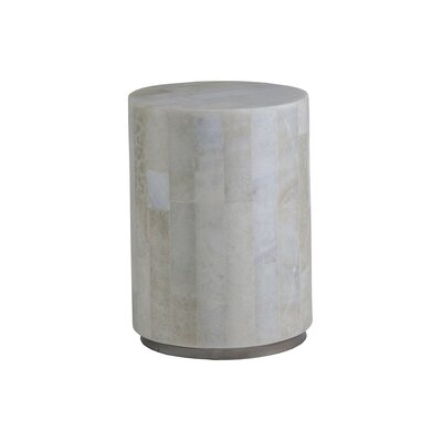 Greta Small Round Spot End Table Size: 19 H x 14 W x 14 D