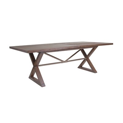 Ringo Extendable Dining Table Color: Marrone
