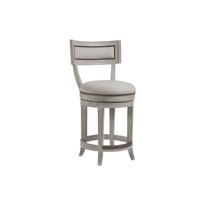 Apertif 24 Swivel Bar Stool Color: Bianco