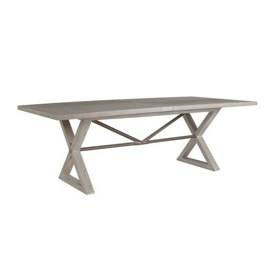 Ringo Extendable Dining Table Color: Grigio