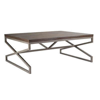 Edict Coffee Table Table Top Color: Marrone