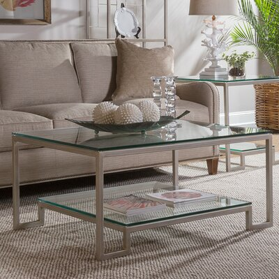 Bonaire Coffee Table Table Base Color: Argento