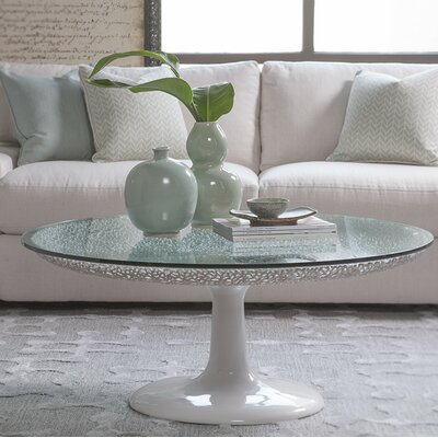 Seascape Coffee Table Table Base Color: White