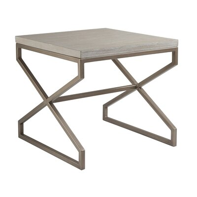 Edict End Table Table Top Color: Bianco