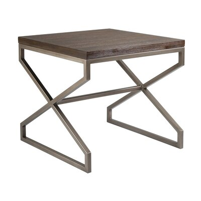 Edict End Table Table Top Color: Marrone