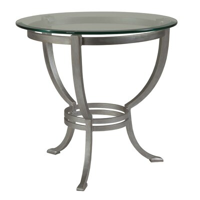 Andress End Table Table Base Color: Argento