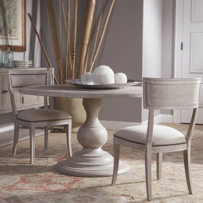 Axiom Dining Table Color: Bianco