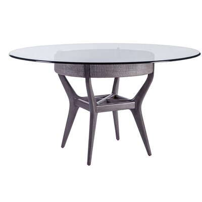 Formosa Dining Table with Glass Top