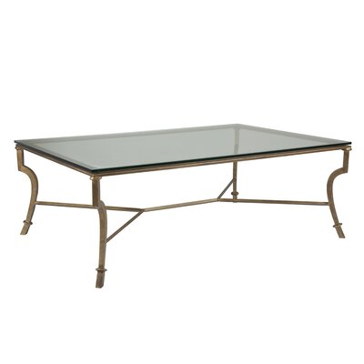 Syrah Coffee Table Size: 19 H x 54 W x 36 D, Table Base Color: Renaissance