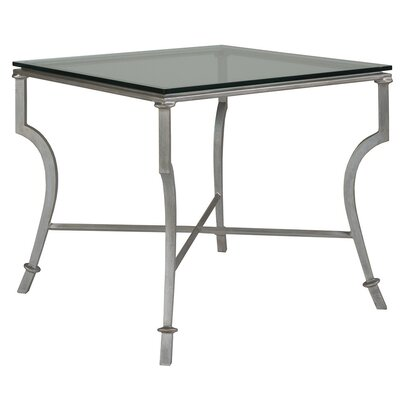 Syrah End Table Table Base Color: Argento