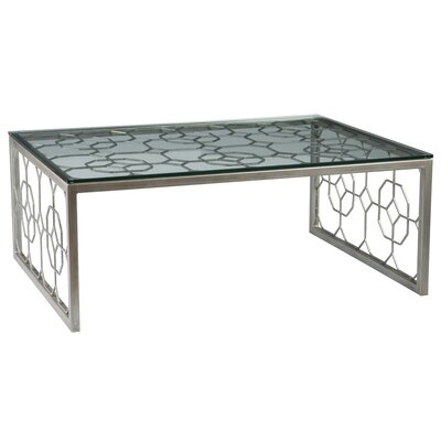 Honeycomb Coffee Table Table Base Color: Argento