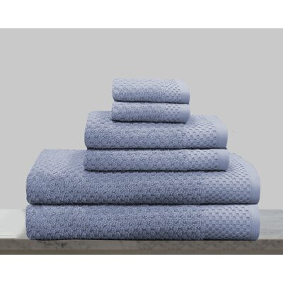 Kempsey 6 Piece Towel Set Color: New Blue