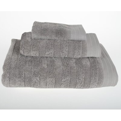 Darwin 3 Piece Bath Towel Set Color: Light Gray
