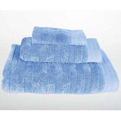 Darwin 3 Piece Bath Towel Set Color: Vista Blue