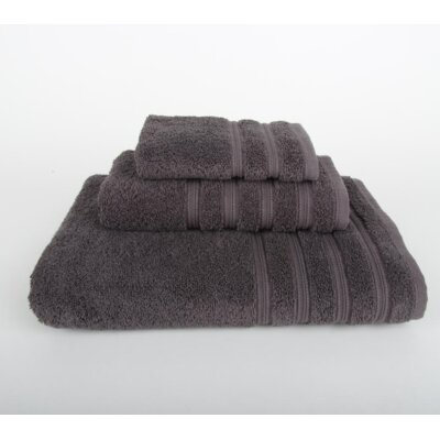 Gilston 3 Piece Towel Set Color: Portabella Gray