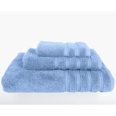 Gilston 3 Piece Towel Set Color: Vista Blue