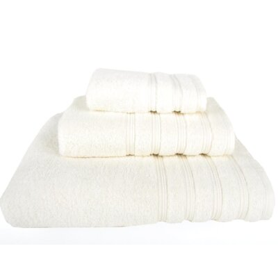 Gilston 3 Piece Towel Set Color: Ivory