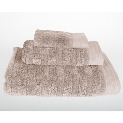 Darwin 3 Piece Bath Towel Set Color: Portabella Beige