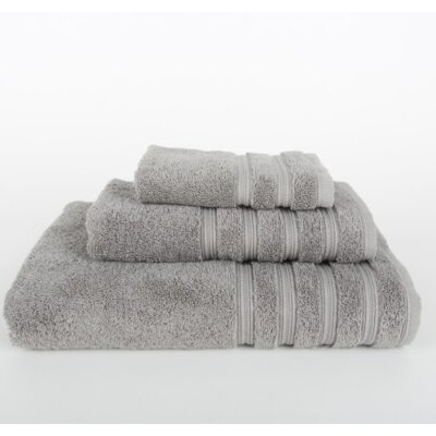 Gilston 3 Piece Towel Set Color: Light Gray