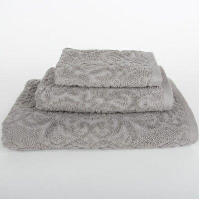 Sanderson 3 Piece Towel Set Color: Light Gray