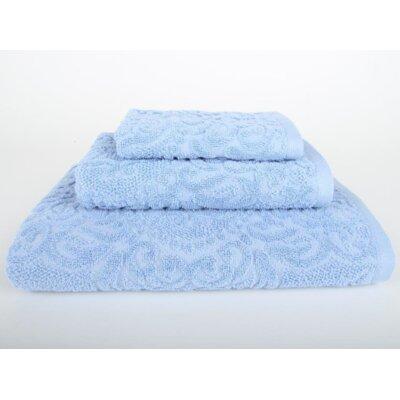 Sanderson 3 Piece Bath Towel Set Color: Vista Blue