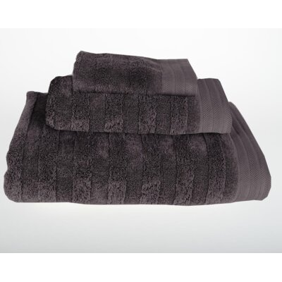 Darwin 3 Piece Bath Towel Set Color: Dark Gray