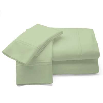 500 Thread Count Sheet Set Size: King, Color: Sage
