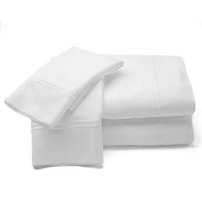 500 Thread Count Sheet Set Size: Queen, Color: White
