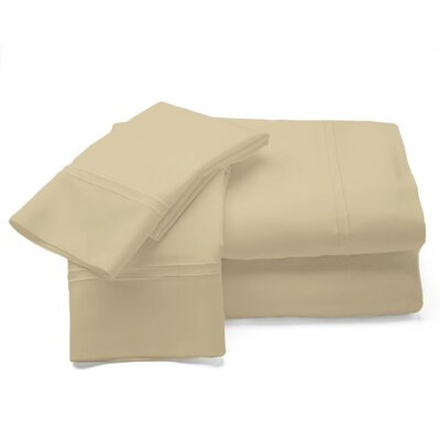 500 Thread Count Sheet Set Size: King, Color: Gold