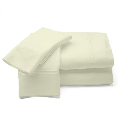 500 Thread Count Sheet Set Size: King, Color: Ivory