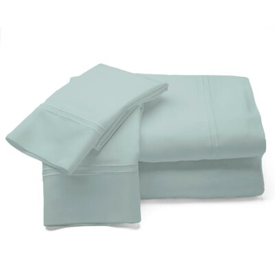 500 Thread Count Sheet Set Size: Queen, Color: Blue